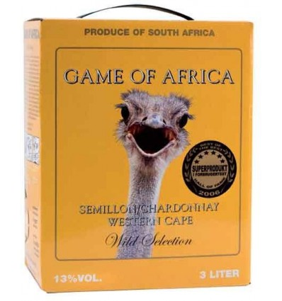Game of Africa Semillon / Chardonnay 11% 3 ltr.