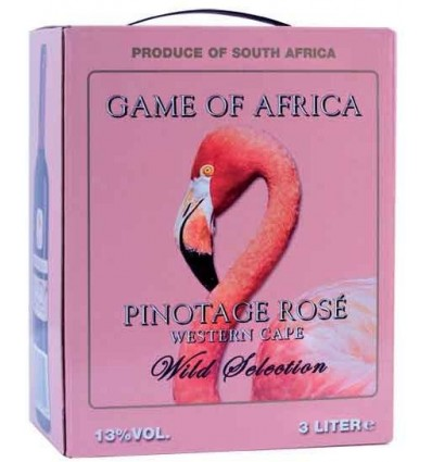 Game of Africa Pinotage Rose 3l BIB