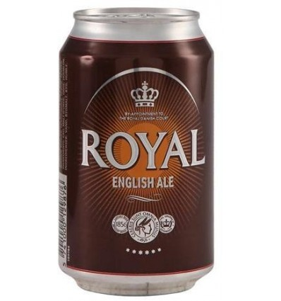 Royal English Ale 24x0,33 l. 4,6%