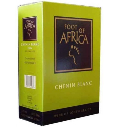 Foot of Africa Chenin Blanc 13% 3 ltr.