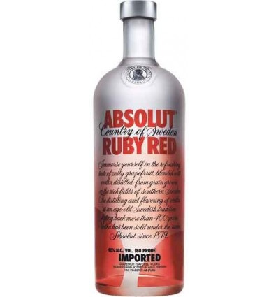 Absolut Ruby Red 40% 1,0 l.