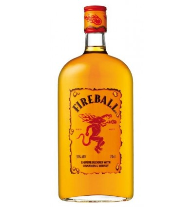 Fireball Cinamon Whisky 0.7 ltr. 33%