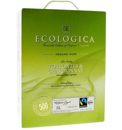 Ecologica Torrontes & Chardonnay 12,5% 3 ltr
