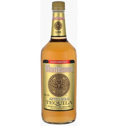 Montezuma Aztec Gold Tequila 1 L, 40%