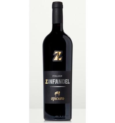 Epicuro Zinfandel Rosso Puglia, 6½ x 0,75 ltr.
