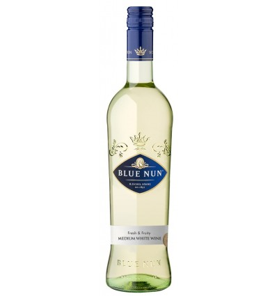 Blue Nun Medium White Wine 6 x 0,75l, 9,5%