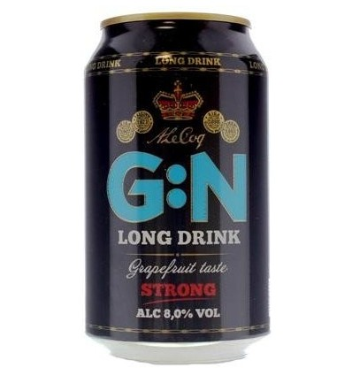 G:N Grapefruit Strong 8% 24 x 0,33 ltr.