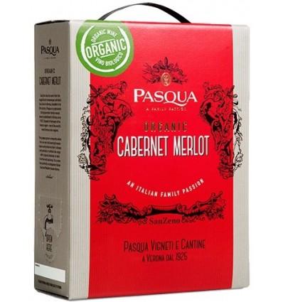 Pasqua Sanzeno Cabernet Merlot EKO 13%, 3 Liter