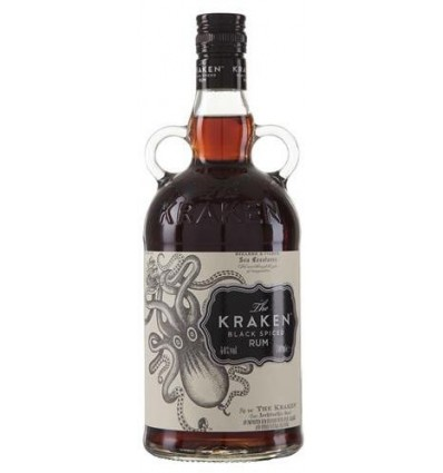 The Kraken Black Spiced 40% 1.0 liter