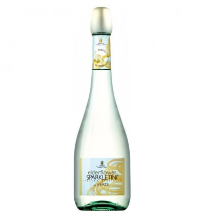 Verdi Sparkletini Elderflower 6 x 0.75 L, 5%