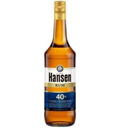 Hansen Rom Blå 40% 1,0l