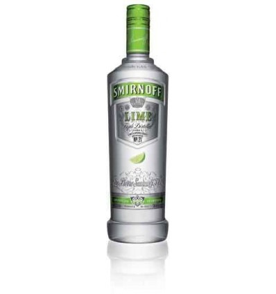 Smirnoff Lime Vodka 37,5% 0,7 ltr.