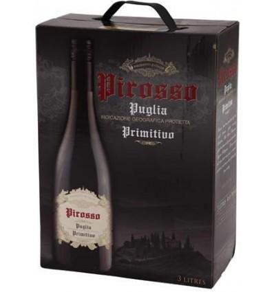 Pirosso Primitivo 3 l. BIB