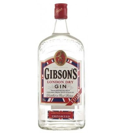 Gibson´s London Dry Gin 37,5% 1 ltr