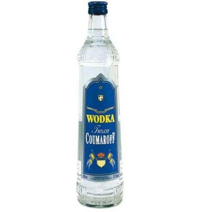 Coumaroff Vodka 37,5% 0,7 l.