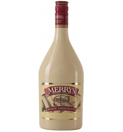 Merrys White Choco Liqueur 17%, 1 ltr.