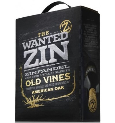 The Wanted Zinfandel 14,5%, 3 ltr.