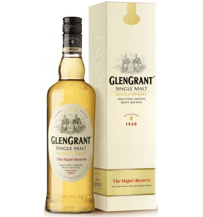 Glen Grant Single Malt Major Reserve 40% 1 ltr.