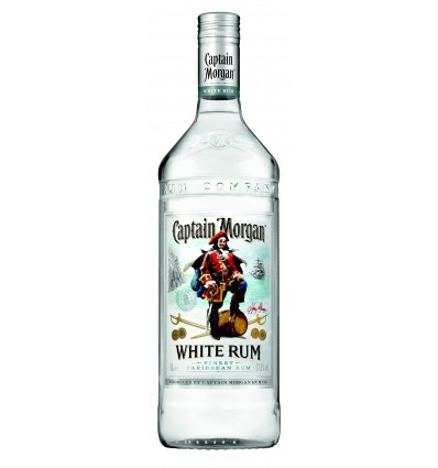 Captain Morgan White Rum 37,5% 1,0l