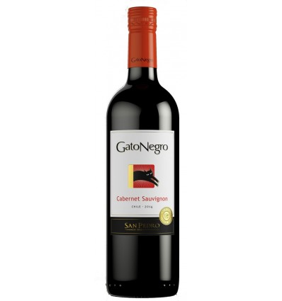 Gato Negro Cabernet Sauvignon 6x0,75ltr, 13,5%