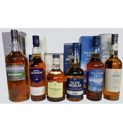 Single Malt whiskypaket
