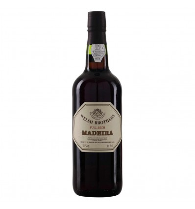 Welsh Brothers Madeira Full Rich 0.75 L, 17.5%