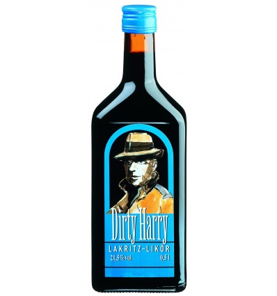 Dirty Harry Lakritz Liqueur 0.5 L, 21.5%