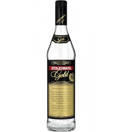 Stolichnaya Gold Vodka 1.0ltr 40%
