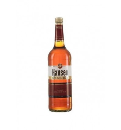 Hansen Golden Dark Rum 0.7 L, 37.5%
