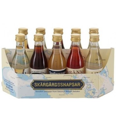 Skärgårdssnapsar Mini Collection 10 x 5cl
