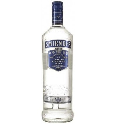 Smirnoff Blue Vodka 50% 1.0 L