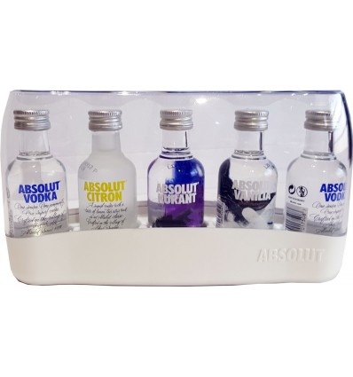 Absolut Five 40% 5x0,05l