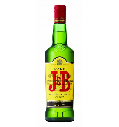 J & B Rare Blended Whisky 40% 1 ltr.