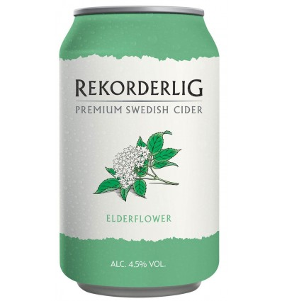 Rekorderlig Cider Elderflower 4,5% 24x0,33l