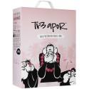 tr3 apor friskt rosévin med fruktig smak 8.5% vol. 3L BiB