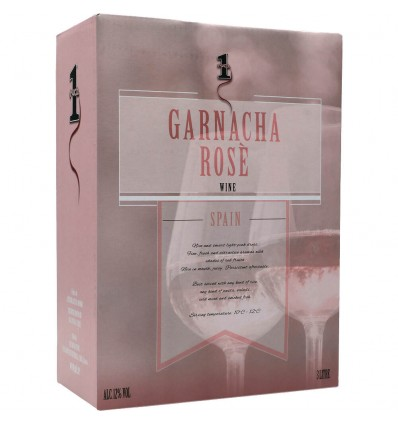 No.1 Garnacha Rosé 12,0% Vol. 3,0l Bag in Box