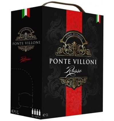 Ponte Villoni Vino d'Italia Rosso 3l